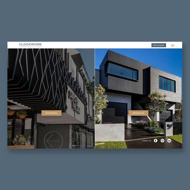 Clockwork Constructions Website