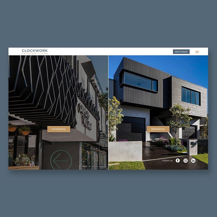 Clockwork Constructions Brochure and Website