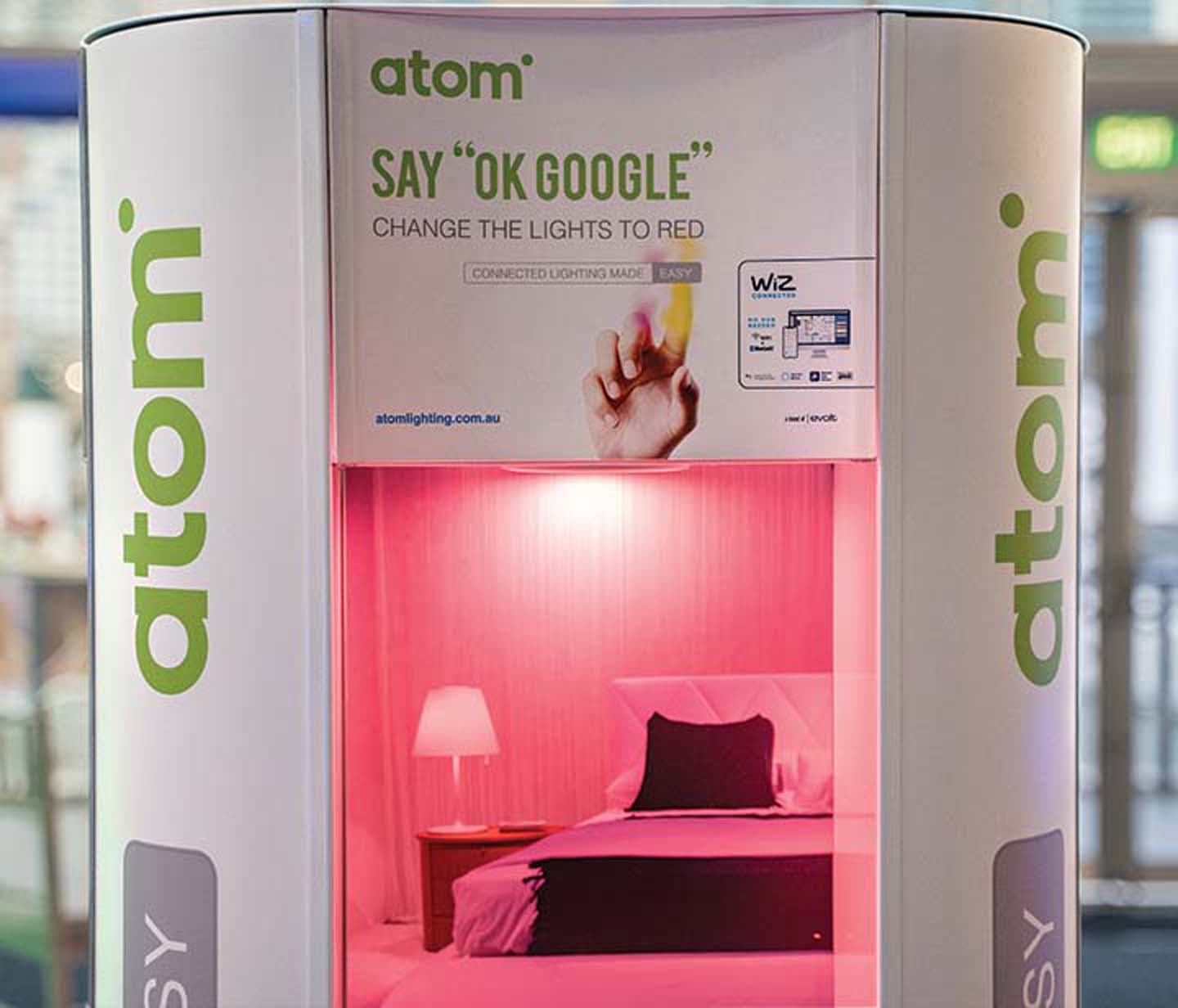 Atom Exhibition Stand – Product Launch