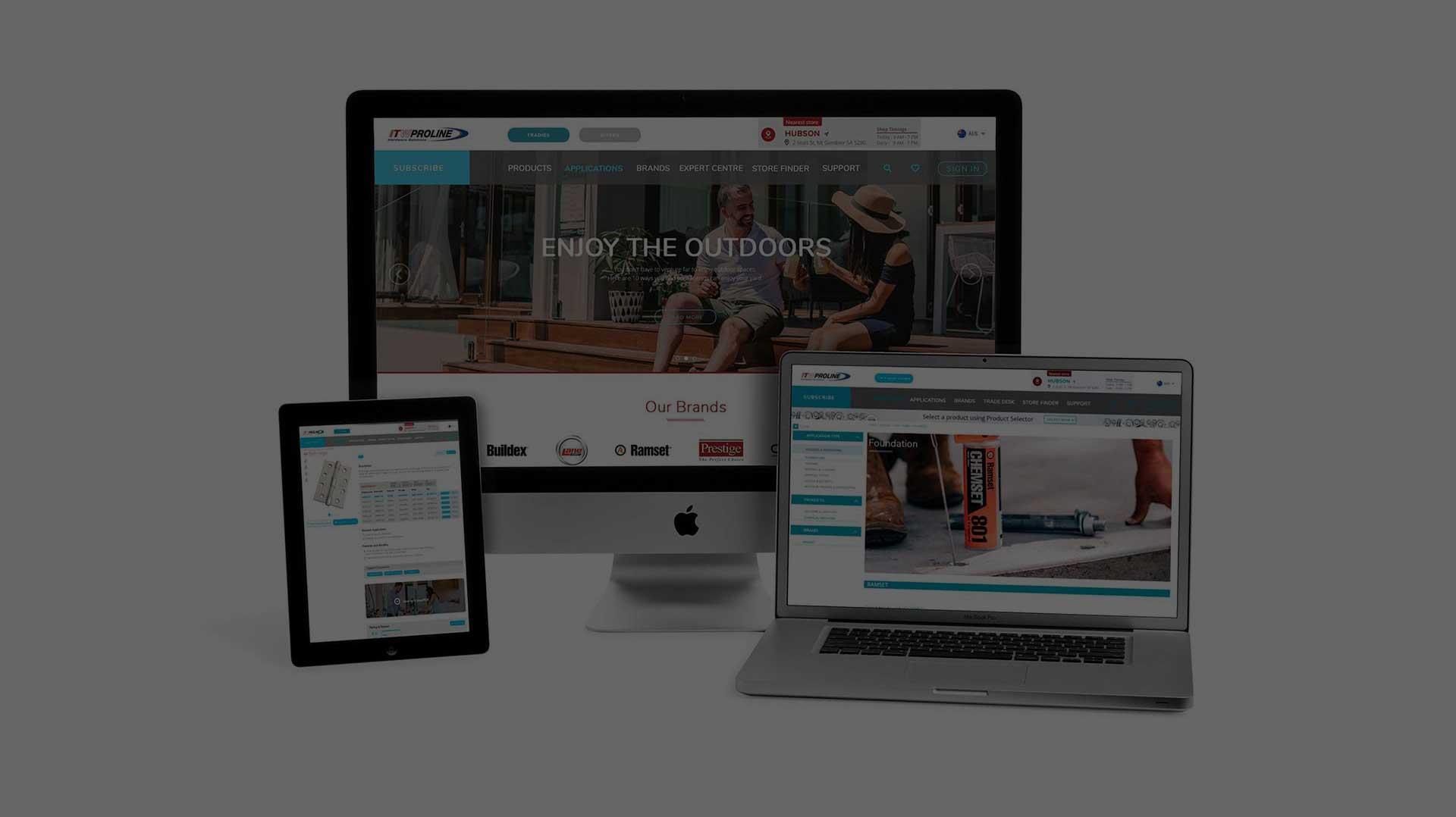 ITW Proline | Website Design, Development & Maintenance | Trade Advertising